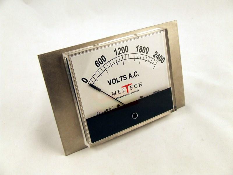 "Volts Meter 6""x 5.5"""
